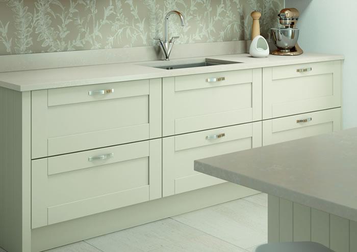 Cambridge Mussel Oak Kitchen Sideboards