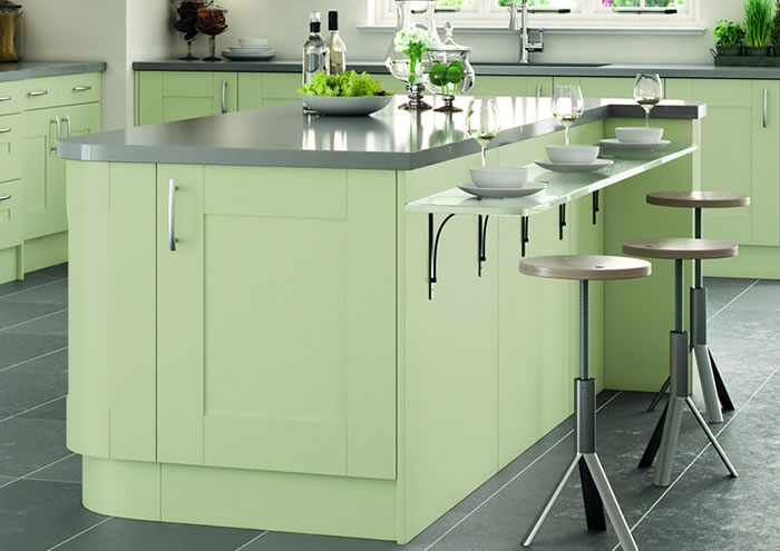 Cartmel Sage Green Kitchen Cabinets