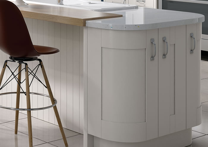 Cartmel White kitchen Sideboards