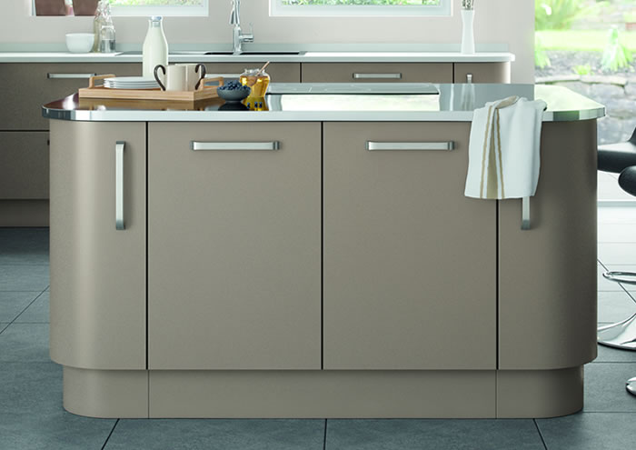Lastra Stone Grey Kitchen Units