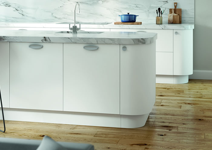 Lastra White Kitchen Units