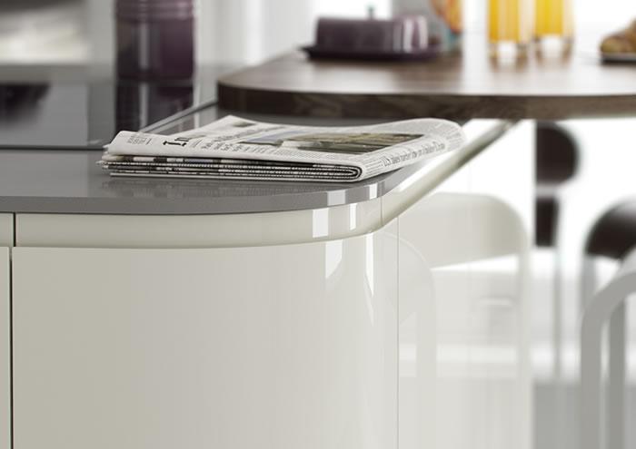Lucente Cream Gloss Cupboards