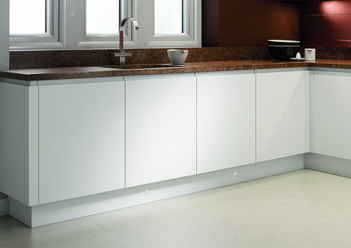 Lucente White Matt Kitchens