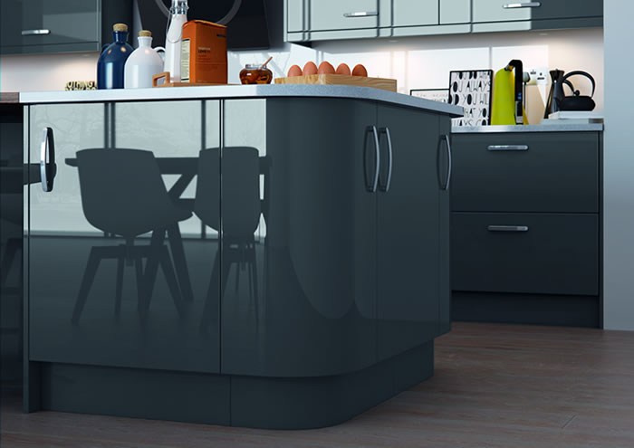 Vivo Gloss Anthracite Sideboards