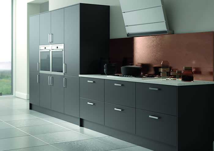 Vivo Matt Anthracite Sideboards