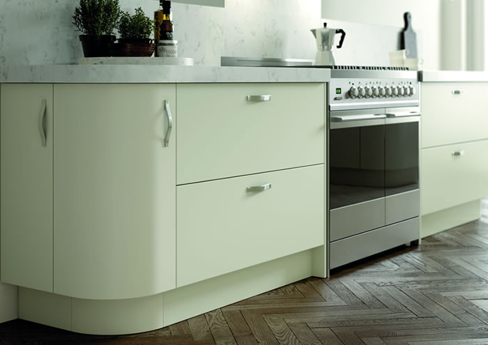 Vivo Matt Ivory Sideboards