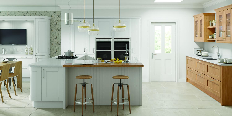 Cambridge Light Grey Kitchens