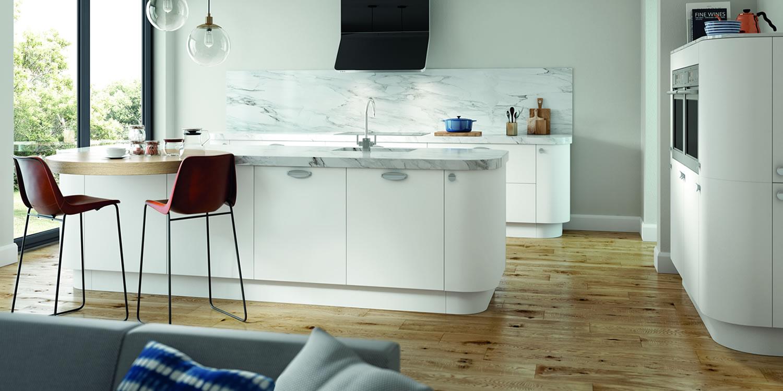 Lastra White Kitchens