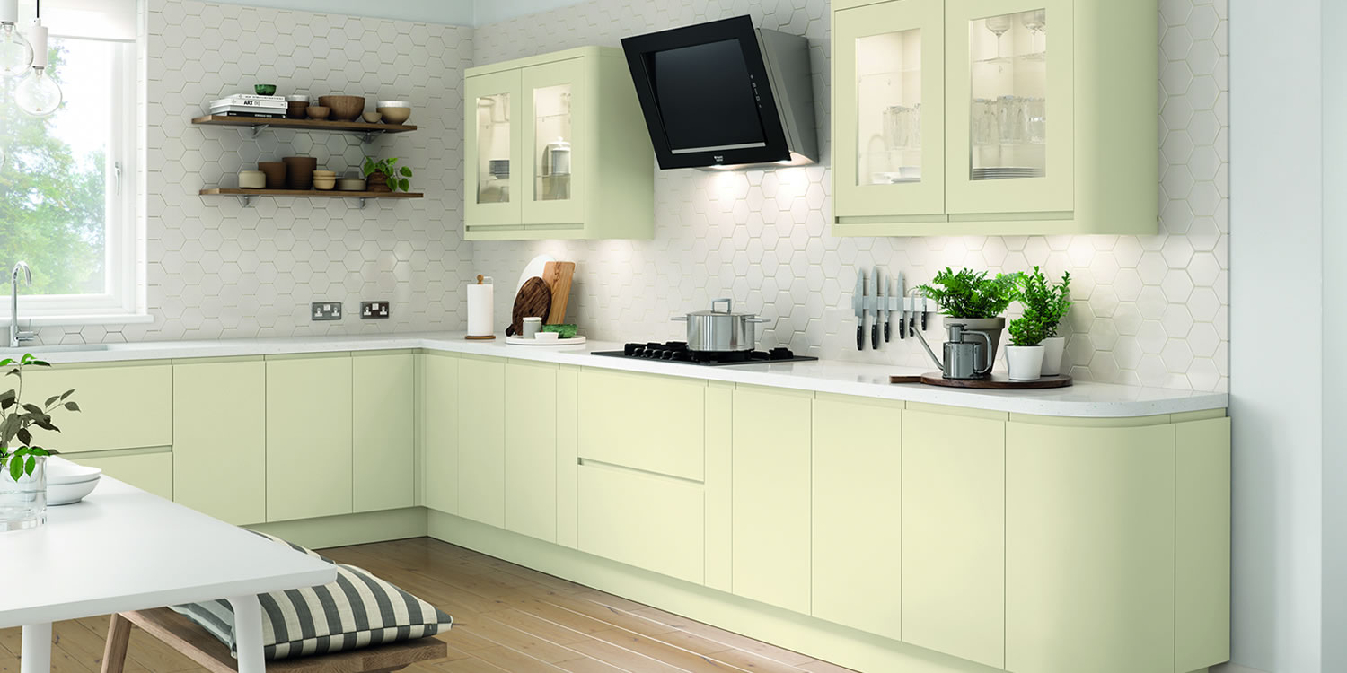 Lucente Cream Matt Kitchens