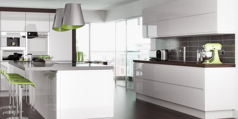 Lucente White Gloss Kitchens