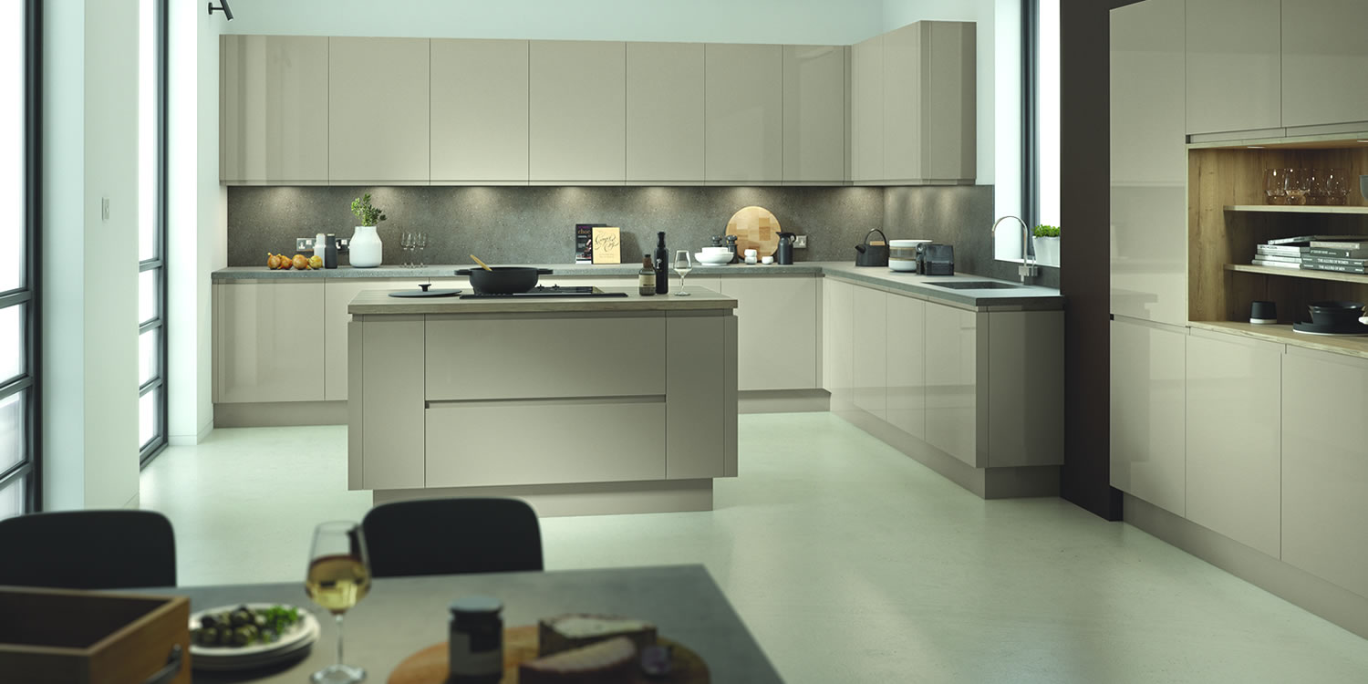Lucente Pavilion Gloss Kitchens