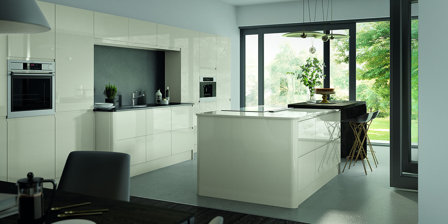 Lucente Porcelain Gloss Kitchens