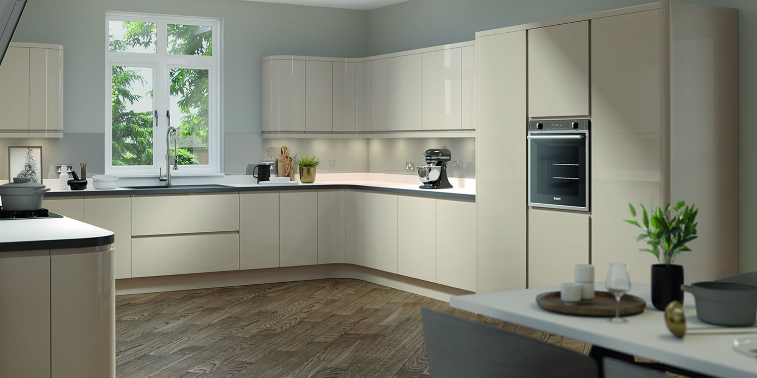 Lucente Stone Gloss Kitchens