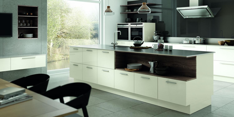 Vivo Gloss Porcelain Kitchens