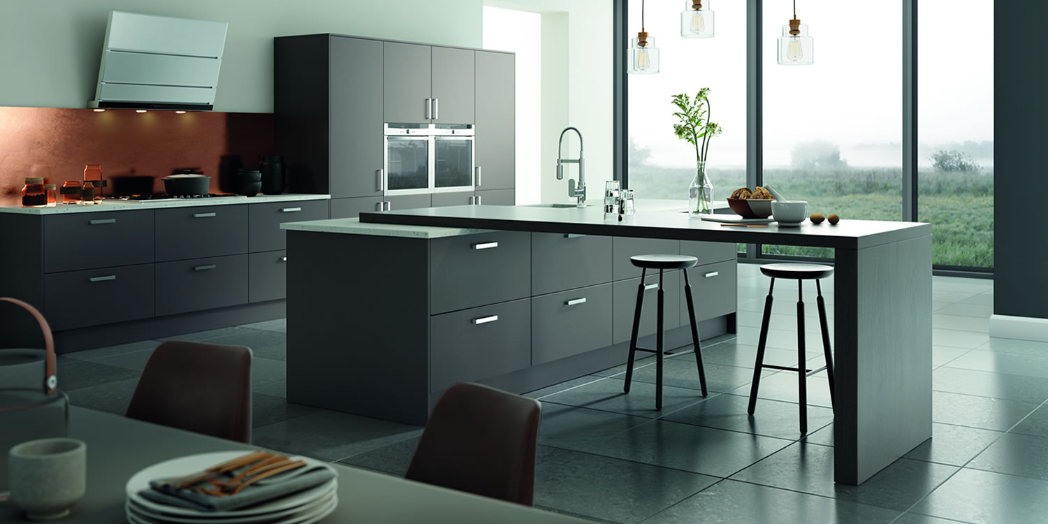 Vivo Matt Anthracite Kitchens