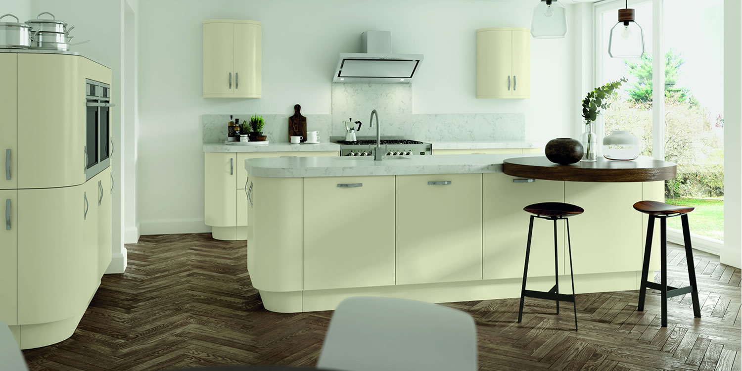 Vivo Matt Ivory Kitchens