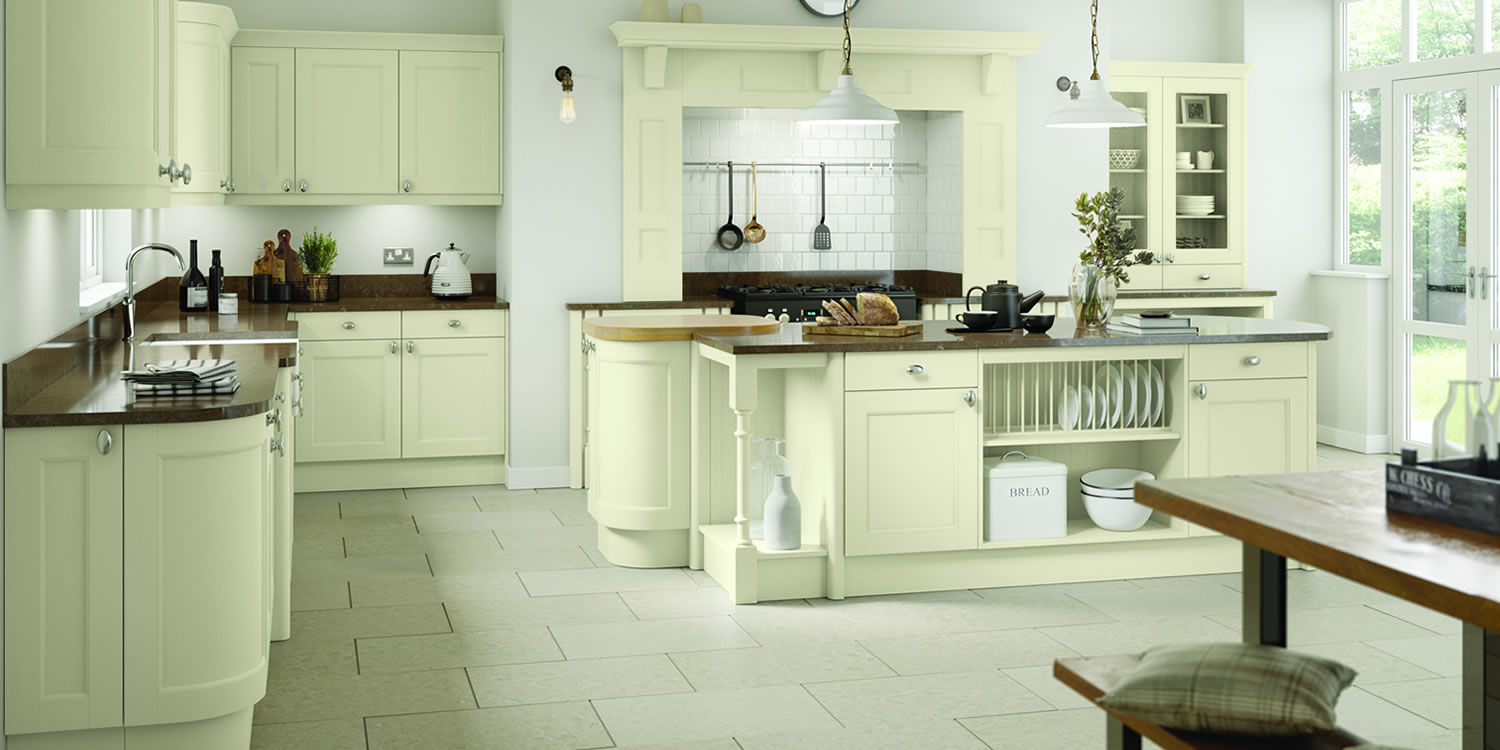 Windsor Ivory Oak Kitchens
