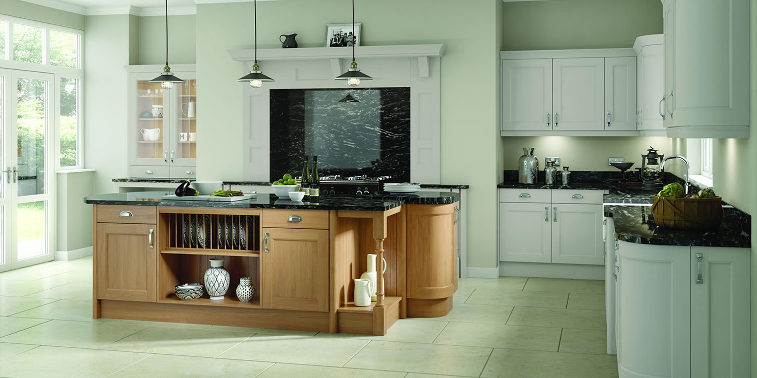 Windsor Light Grey Oak Kitchens