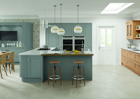 Cambridge Dust Grey Kitchens