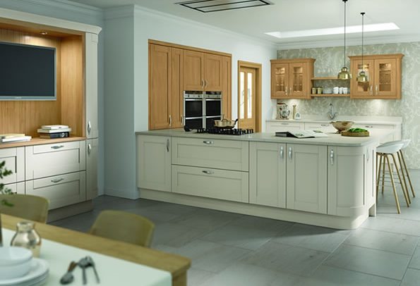 Cambridge Mussel Oak Kitchens
