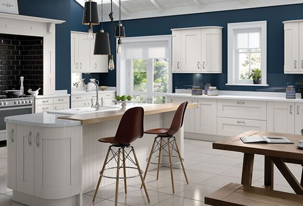 Cartmel White kitchens