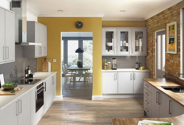 Lastra Light Grey Kitchens