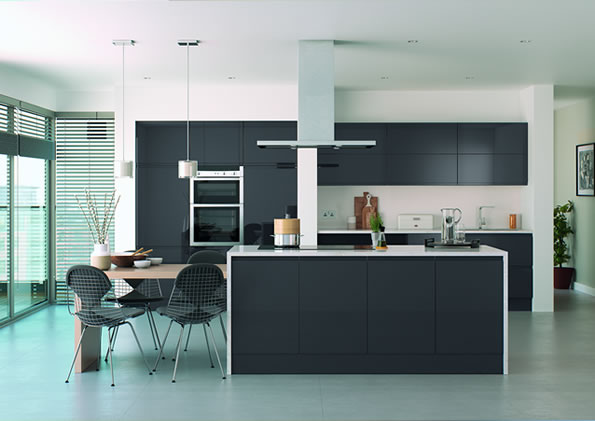 Lucente Anthracite Gloss Kitchens