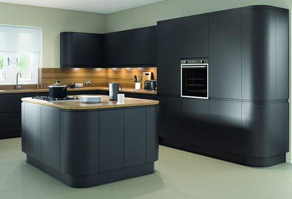 Lucente Anthracite Matt Kitchens