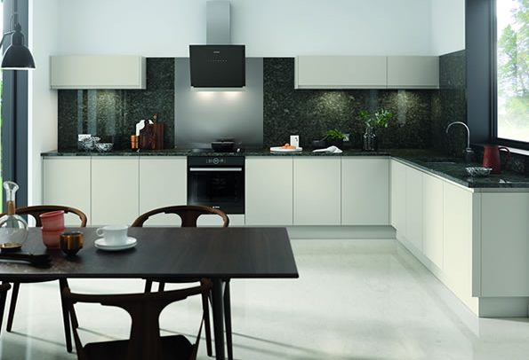 Lucente Light Grey Matt Kitchens