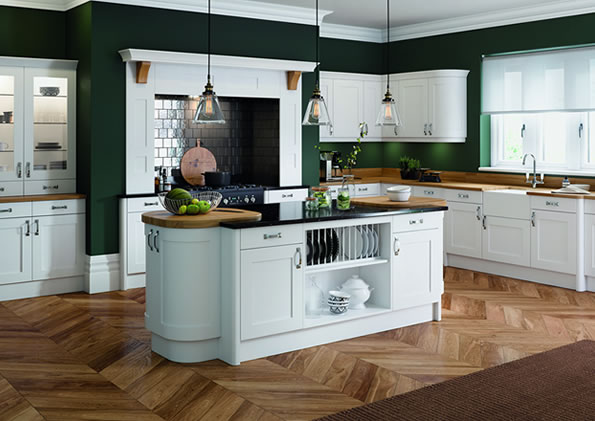 Oxford White Kitchens