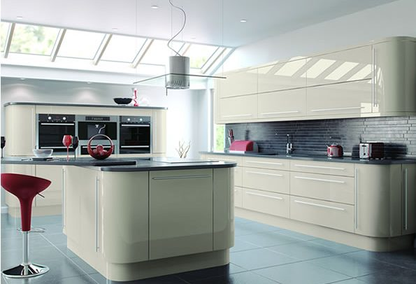 Vivo Gloss Cashmere Kitchens