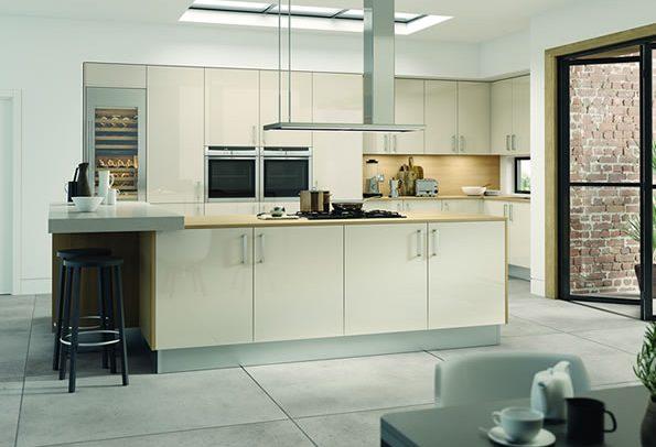 Vivo Gloss Stone Kitchens